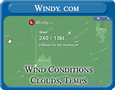 Wind Conditions, Windy.com - Interactive Map