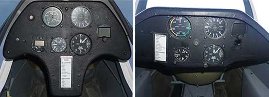 ASK 21 Instrument Panels