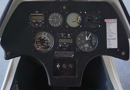 ASK 23 Instrument Panel